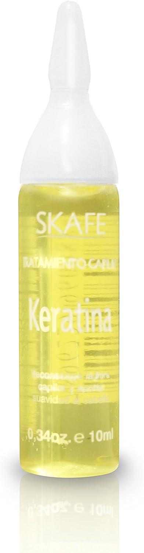 Caja 4 Ampollas de Tratamiento de Keratina