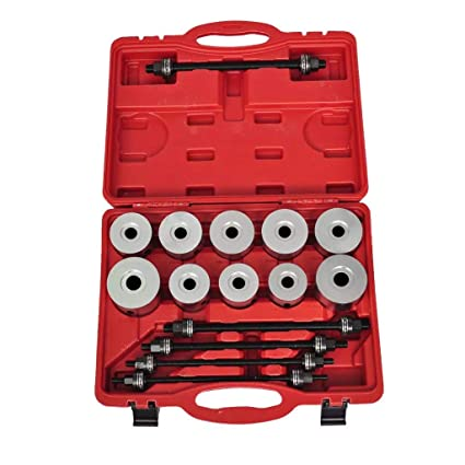 SKB family Professional Pull Press Sleeve Kit 27pc, Red, 40 CR, Size: