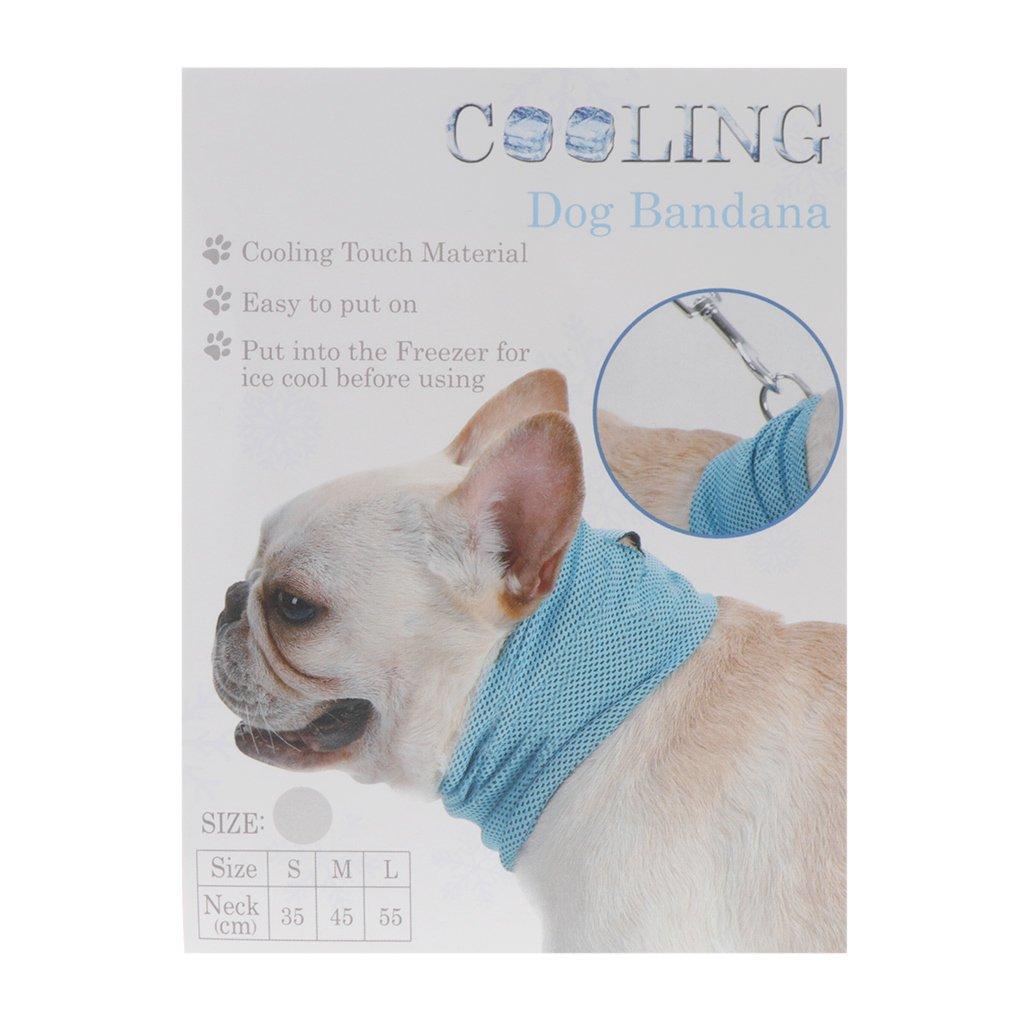 Longsw - Pañuelo de Verano para Mascota, enfriamiento, para Perro ...
