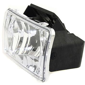 Set of 2 Clear Lens Fog Light For 2004-12 Chevrolet Colorado LH /& RH