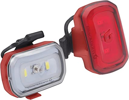 Blackburn 2Fer Front or Rear LED White or Red USB Rechargeable USB Light 2 Pack