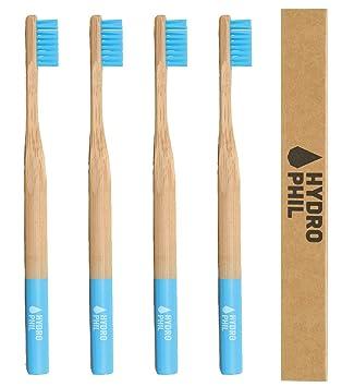 Hydrophil Nachhaltige Zahnburste Aus Bambus Grun 4er Pack