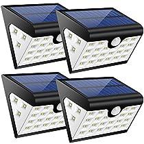 Set di 4 Luci Solari Esterne