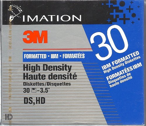 Imation - 30 x floppy disk - 1.44 MB - PC - storage media by Imation Corp.