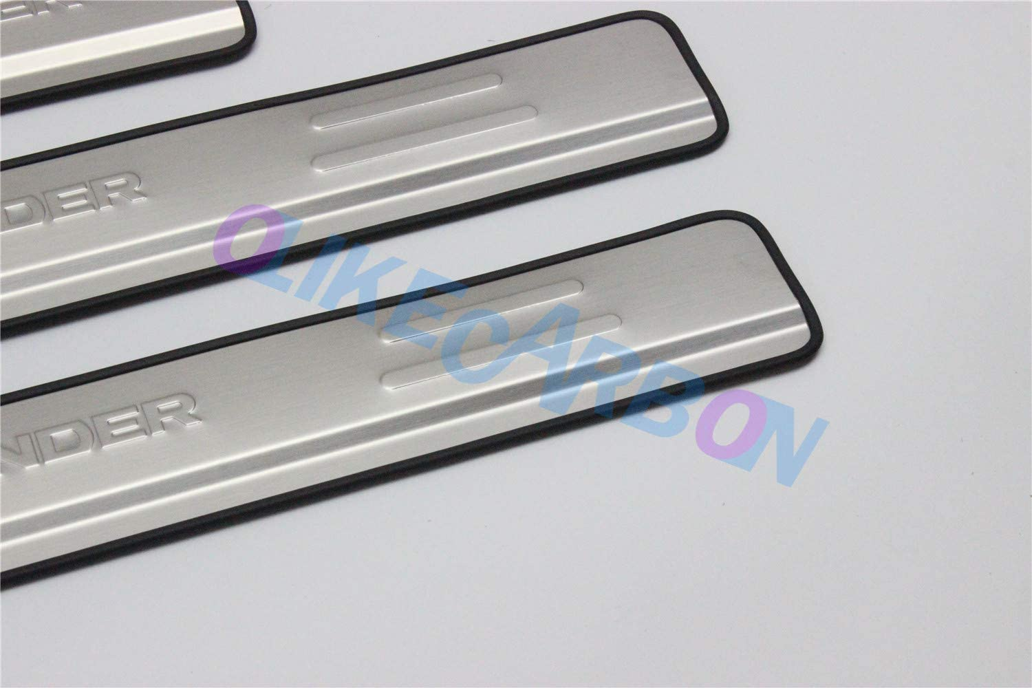 OLIKE for Mitsubishi Outlander 2015-2018 Stainless Steel Door Sill Scuff Plate Entry Guard Sills Protector Trim