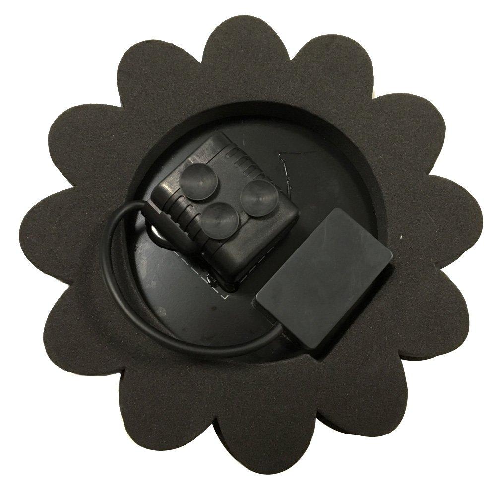 AUFUN LED Pompe Solaire avec Batterie 1,5W Fonction Eau Solaire ...