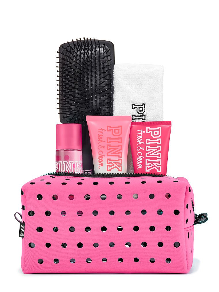 Victoria's Secret PINK Campus Fragrance Beauty Kit Set (Fresh & Clean) VS