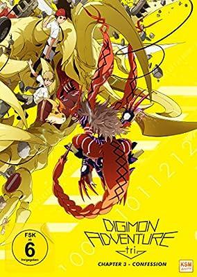 Digimon Adventure tri. Chapter 3 - Confession Alemania DVD: Amazon.es: Cine y Series TV