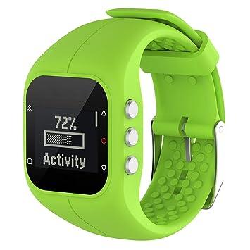 Gereton Polar A300 Smart Watch Correa de Reloj de Pulsera de Silicona Suave Correa Smartwatch Banda de Pulsera para Polar A300 Reloj Inteligente: Amazon.es: ...