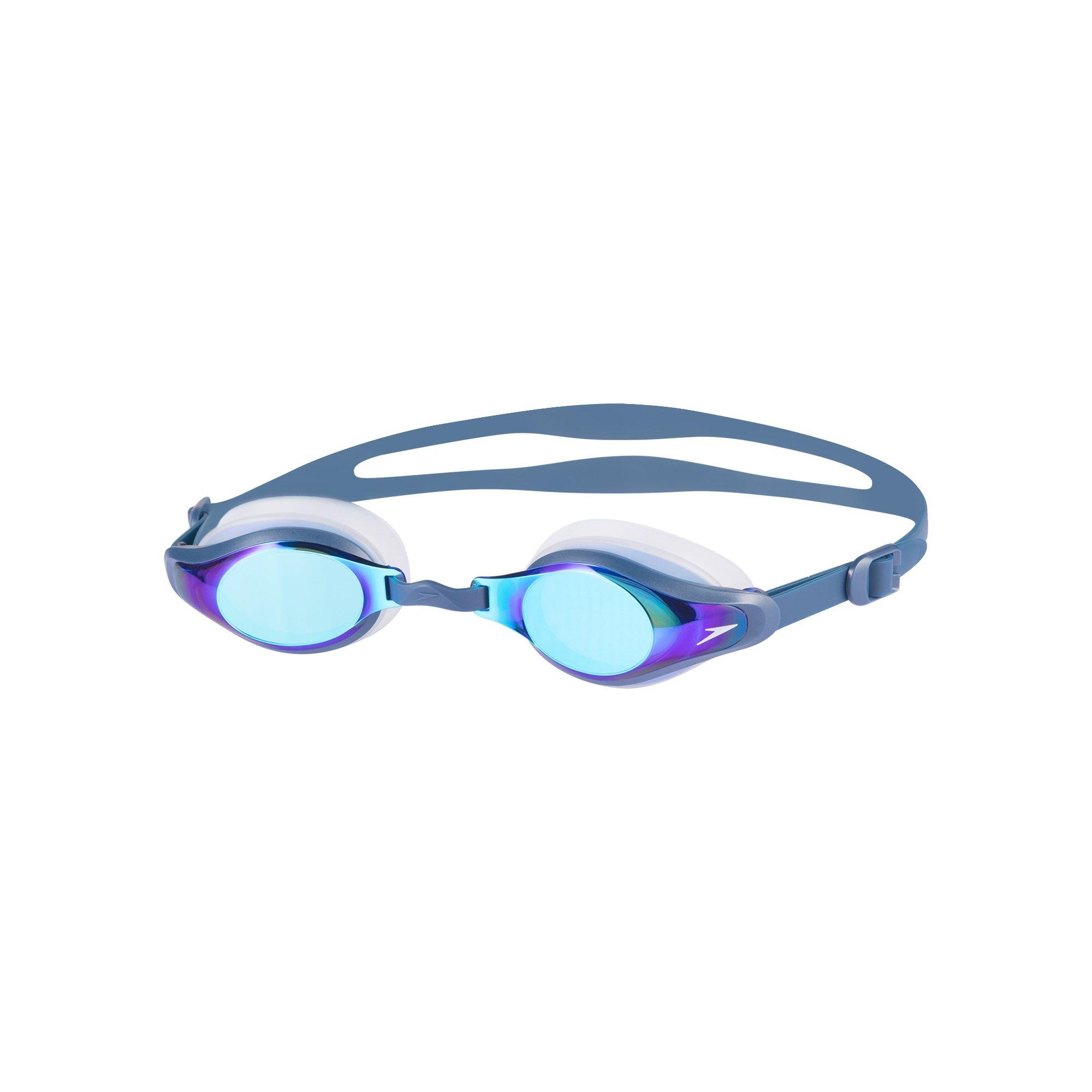 Speedo-Goggles-Mariner Supreme Mirror Goggle-Blue-