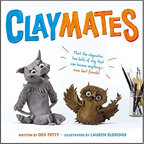 cover image, Claymates