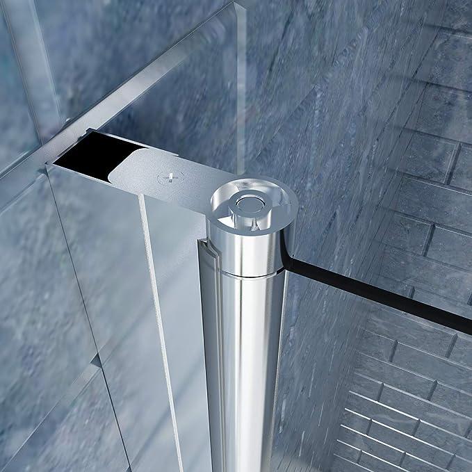 SUNNY ducha FP 32 Pivot Swing para mampara de ducha, cristal ...