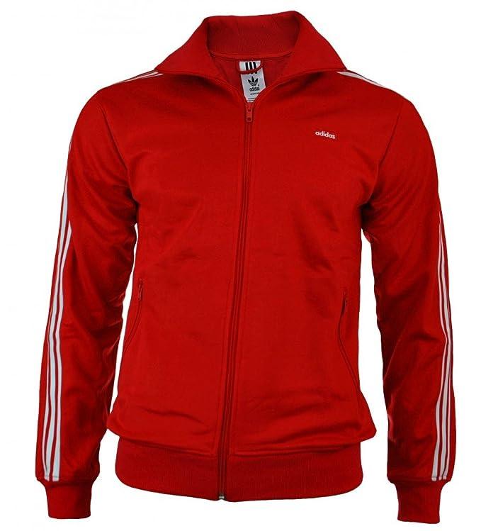 Adidas Originals Beckenbauer TT Track Top chaqueta hombres rojo: Amazon.es: Ropa y accesorios