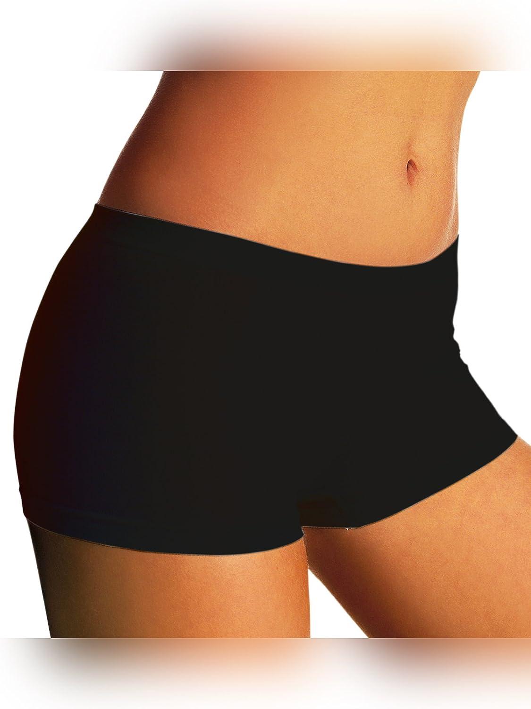 SENSI Boxershort M/ädchen Panty Nahtlos Baumwolle und Mikrofaser Made in Italy