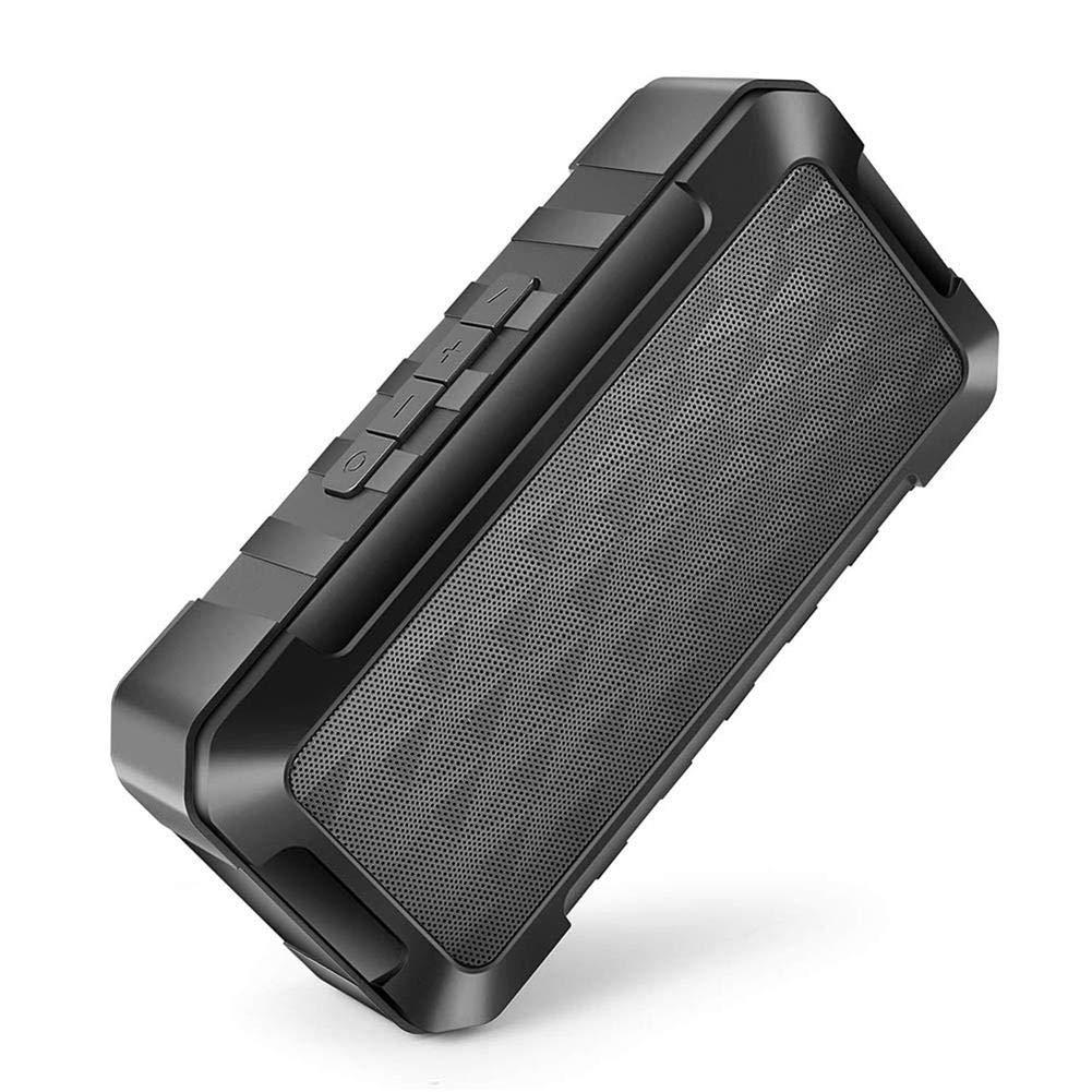 radio FM Altoparlante Bluetooth sportivo senza fili suono eccellente di 10 ore slot per scheda SD e TF nero Kengbi altoparlante esterno portatile TWS con suono stereo HD e bassi ricchi