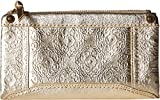 The Sak Women's Tahoe Soft Wallet by The Sak Collective New Gold Souk Emboss One Size
