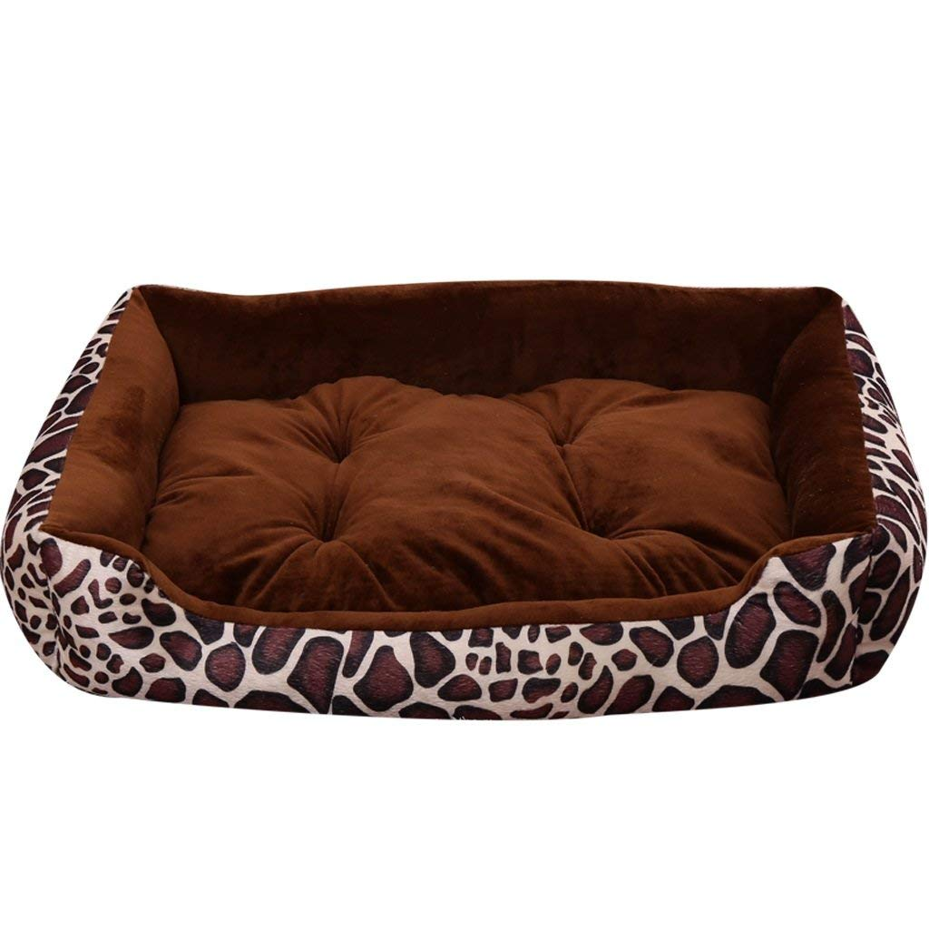 Small Kennel Pads Dog Beds Kennel Four Seasons Teddy Pet Worm Cat Small Medium Large Dog golden Retriever Dog Mattress Dog Supplies Summer Pet Bed (Size   XS) Cat Bed Pet Supplies Cover (Size   S)