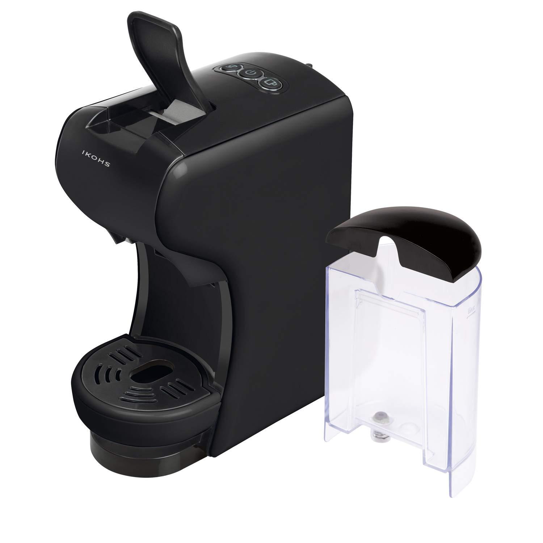 IKOHS Macchina per caffè Espresso Italiano–caffettiera Multi Capsule Nespresso 3in 1 Bianco