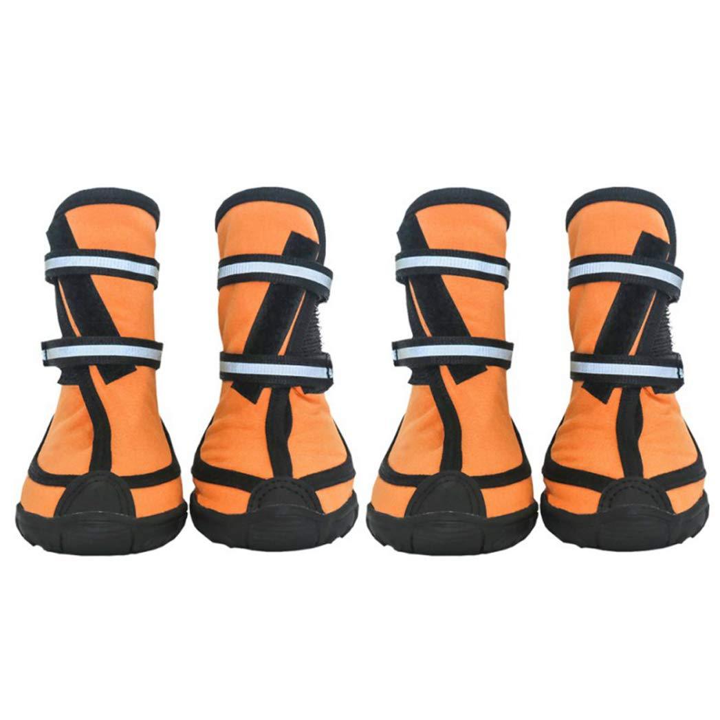 SENERY Pet Dog Shoes Boots, Outdoor Sport Rain Snow Waterproof Non-Slip Anti-Slip Rubber Dogs Footwear Booties
