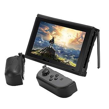 Carcasa Desmontable AIXMEET Ultimate para Nintendo Switch con Estuche Completamente Cerrado | Protección Joy-con Desmontable | Soportes Verticales ...
