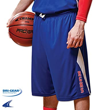 7f79af64d79 Amazon.com  Champro Youth Mens Reversible Basketball Jersey Polyester  Uniform Bottoms Shorts  Clothing
