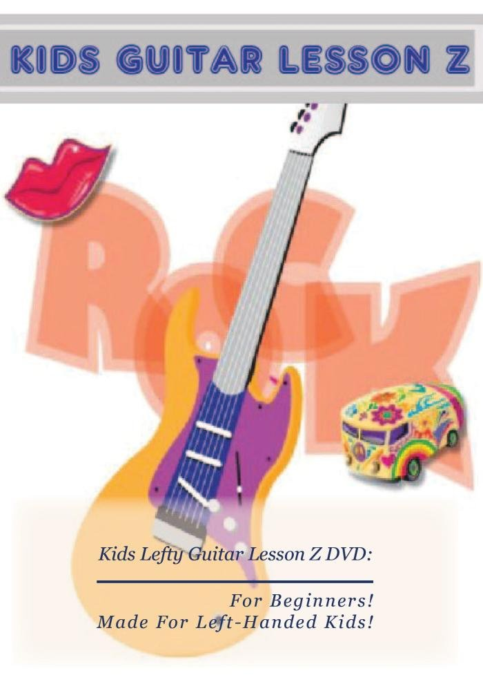 Amazon Kids Lefty Guitar Lesson Z Dvd For Beginners Movies Tv