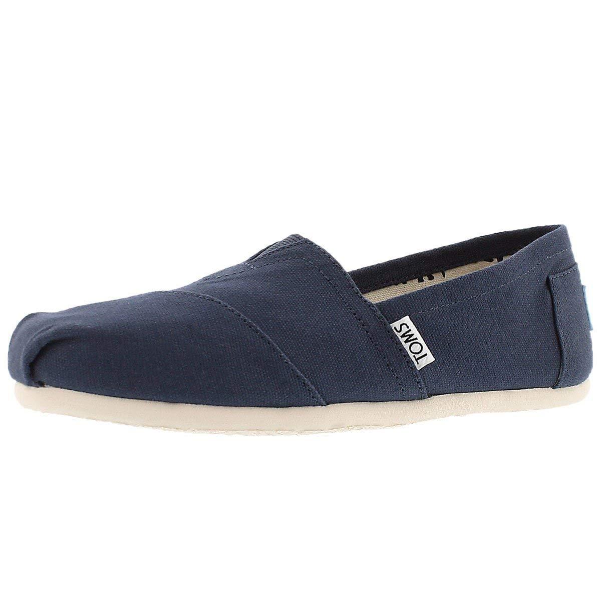 competitive price 73d5c 47926 Amazon.com   TOMS Women s Classic Canvas Ankle-High Flat Shoe   Shoes
