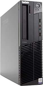 Lenovo ThinkCentre M82 Small Form Factor Desktop PC, Intel Core i5-3570 3.4GHz, 8GB DDR3 RAM, 256GB SSD, Win-10 Pro x64 (Renewed)