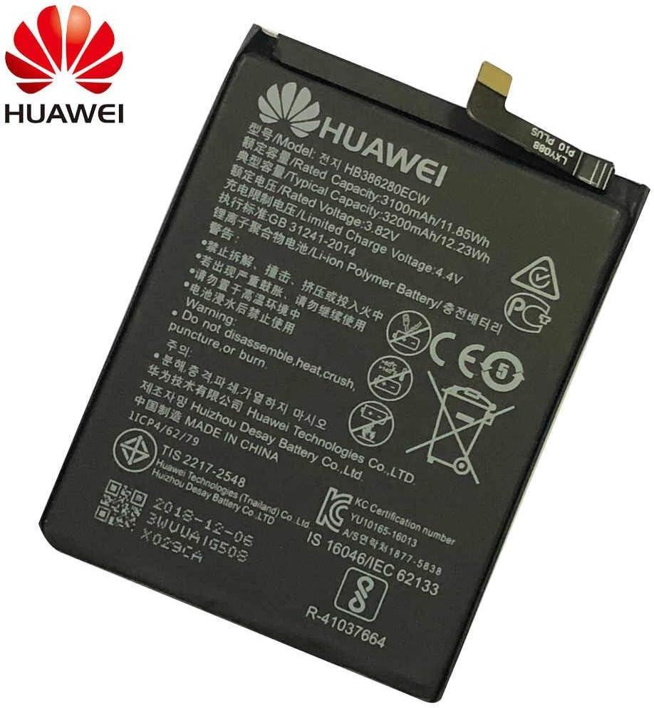 Batería Original Huawei HB386280ECW para Huawei P10-3200 mAh: Amazon.es: Electrónica