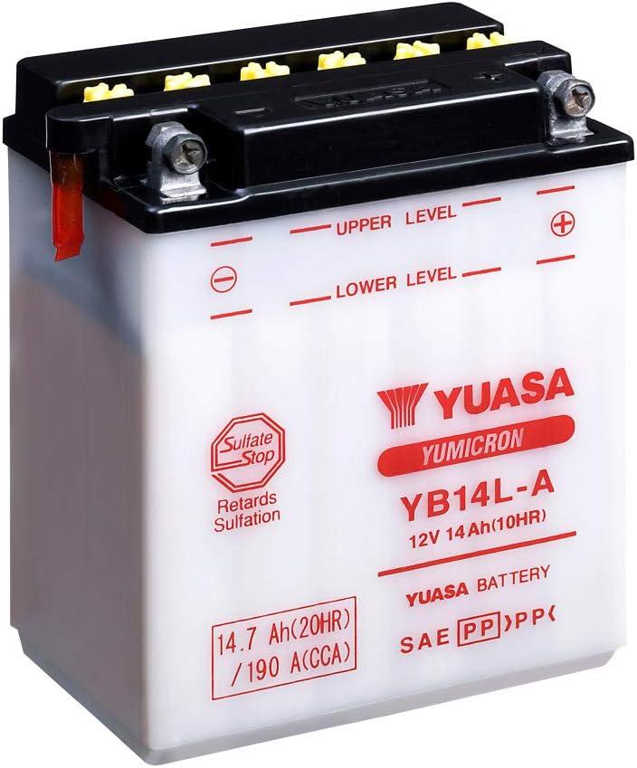 Yuasa Batterie Yb14l A Offen Ohne Saeure Auto