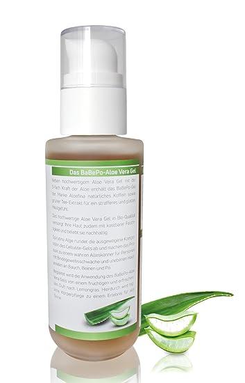 Aloe Vera Gel 200 ml - bodylotion con sustancias straffenden - Toallitas Ender Aroma - Natural cosmética.: Amazon.es: Belleza