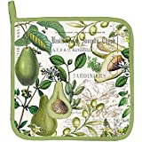 Michel Design Works Cotton Potholder, Avocado