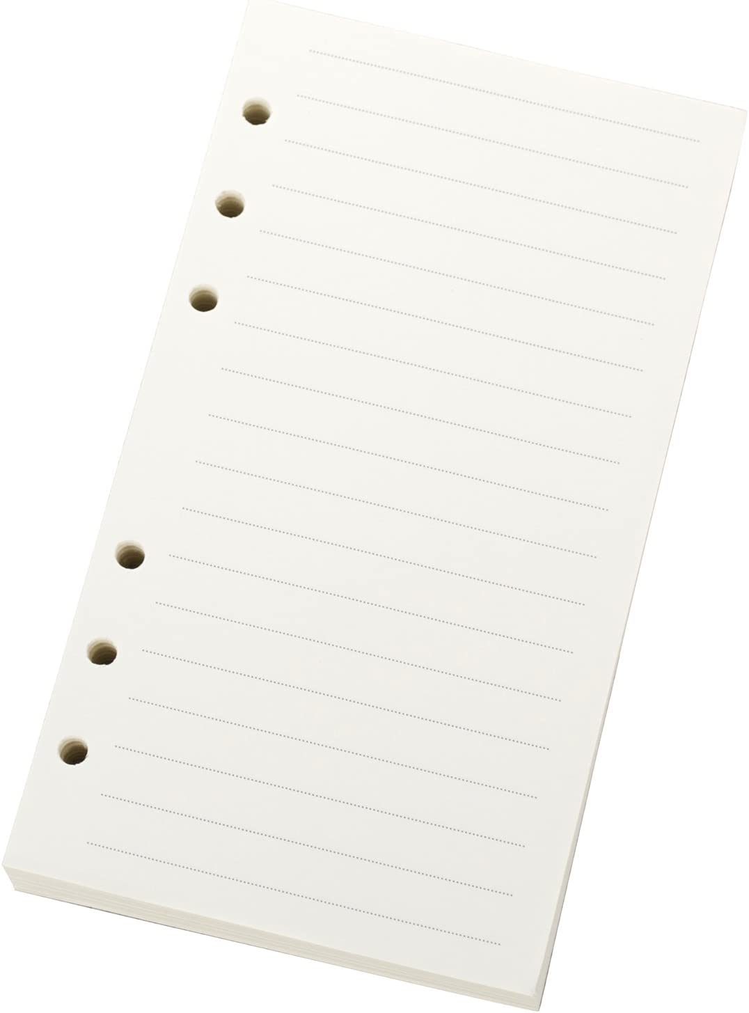 """A6 300x Lined Filler Paper Binder Notebook Papers 6 Hole Punch 6.75 x 3.75/"""""""