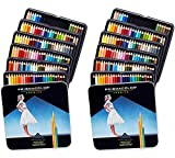 Prismacolor 4484 Premier Soft Core Colored Pencils, 132 Colors, Perfect for Layering, Blending, and Shading - Soft, Thick Cores Create a Smooth Color Laydown, Pigments, Pack of 2