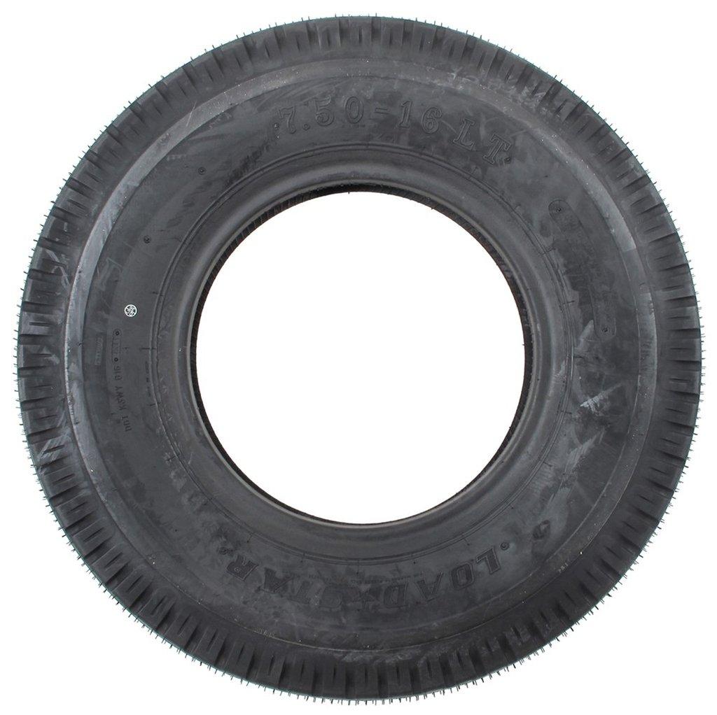 """eCustomRim 836 Light Truck Tire 7.50-16LT 7.50-16 LT E for 16"""" x 6"""" Rim 31.8"""""""