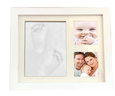 youkara Babyprints marco de fotos, recién nacido bebé Handprint y ...