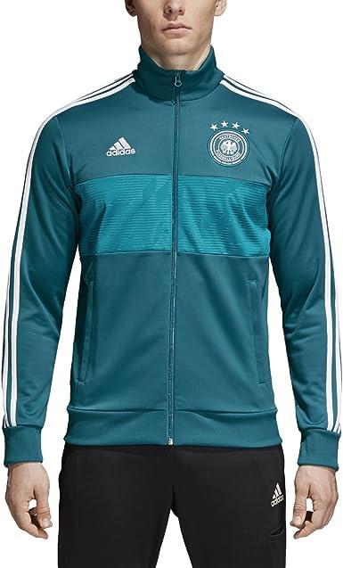 adidas Mens Soccer Germany 3 Stripes Track Top