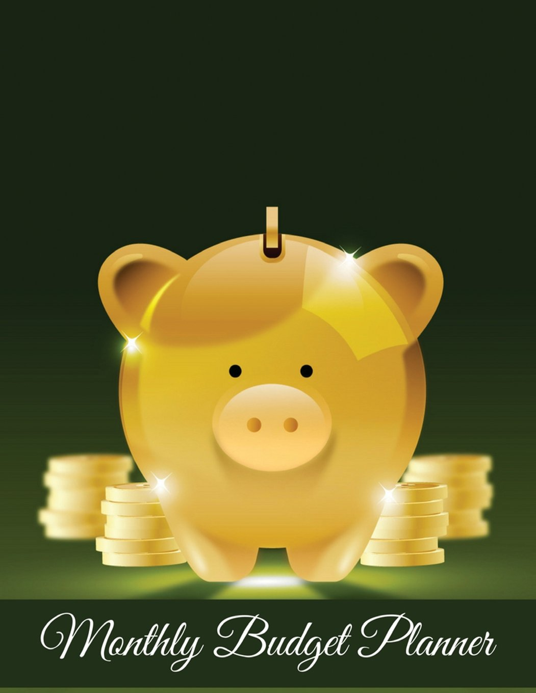 Read Online Monthly Budget Planner: Gold Piggy Bank with Coin Design Budget Planner Book With Calendar 2018-2019 Income List, Monthly Expense Categories and ... Budget Planner and Bill Tracker (Volume 4) pdf epub
