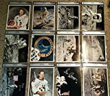 Neil Armstrong Buzz Aldrin John Young Signed Autographed All 12 MOONWA