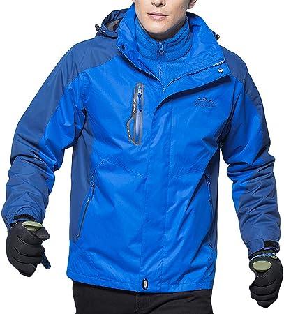Amazon.com: Dacawin - Abrigo de invierno para hombre, 2 ...