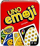 Mattel Games UNO Tin Emoji Card Game (Amazon Exclusive)