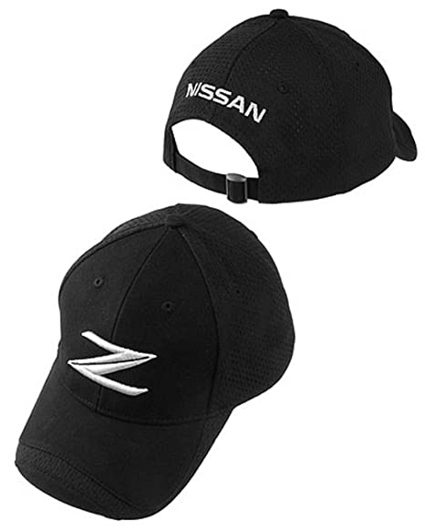 a7030734cdc Amazon.com  Nissan 370Z Low Profile Black Baseball Cap  Automotive