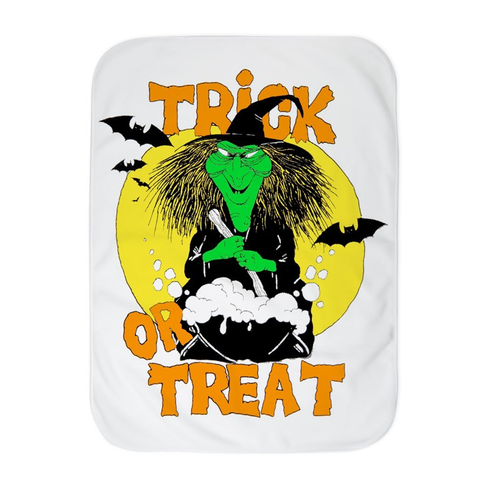 Royal Lion Baby Blanket White Halloween Trick or Treat Witch