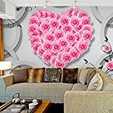Ohcde Dheark Modern Simple Style Background 3D Stereo Murals Living Room Wallpaper ,400cmX280cm(157.5 By 110.2 In )