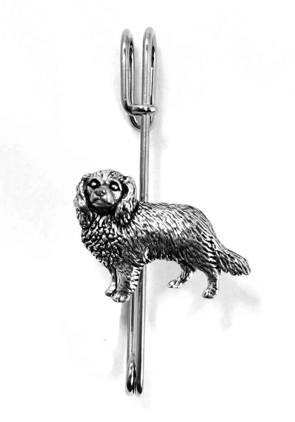 Cavalier King Charles imperdible para falda escocesa de perro ...
