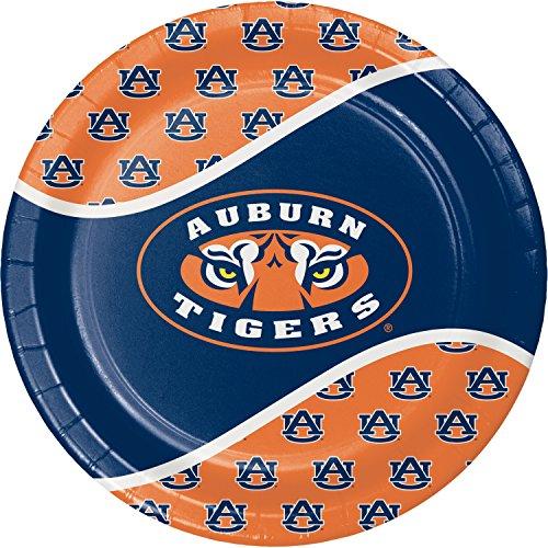 Auburn University Paper Plates, 24 - Paper Auburn Tigers