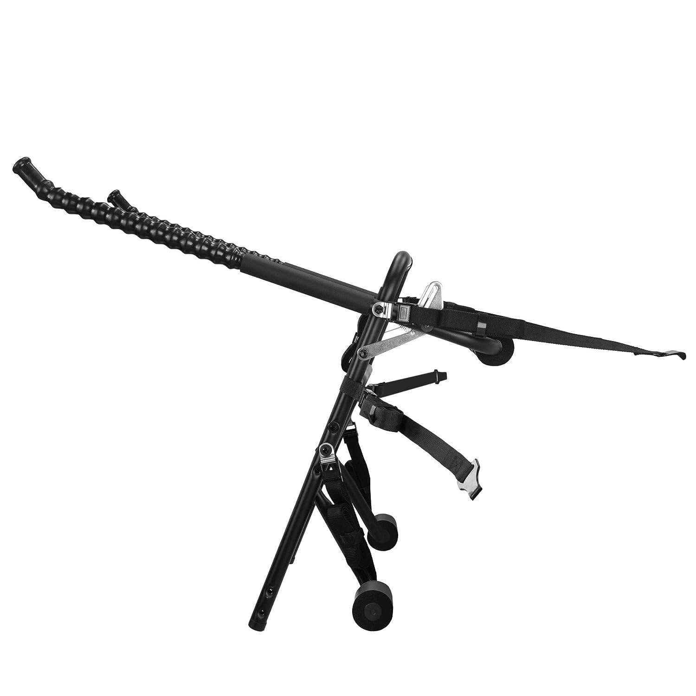 Bastidor para bicicletas almacenamiento, color negro, talla NA Hollywood Racks