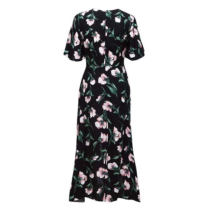 3e2432a43a Amazon.com  Yaseking Summer Boho Grow Dress