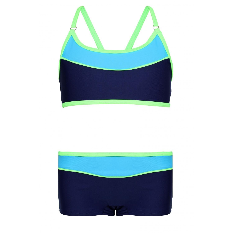 Aquarti Mädchen Sport Bikini - Badehose & Racerback Oberteil