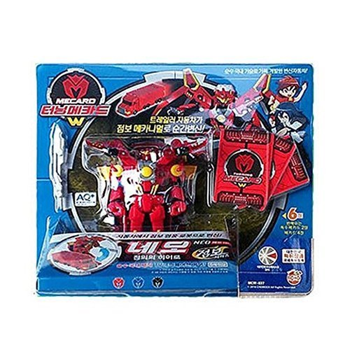 [Sonokong] Turning Mecard W Transforming Robot Car Toy Jumbo Neo
